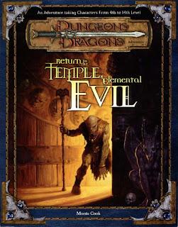 D&D: Retorno al Templo del mal elemental