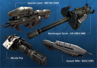 Armas humanas Halo 3