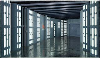 Star Wars pasillo