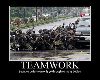 trabajo en equipo demotivacional