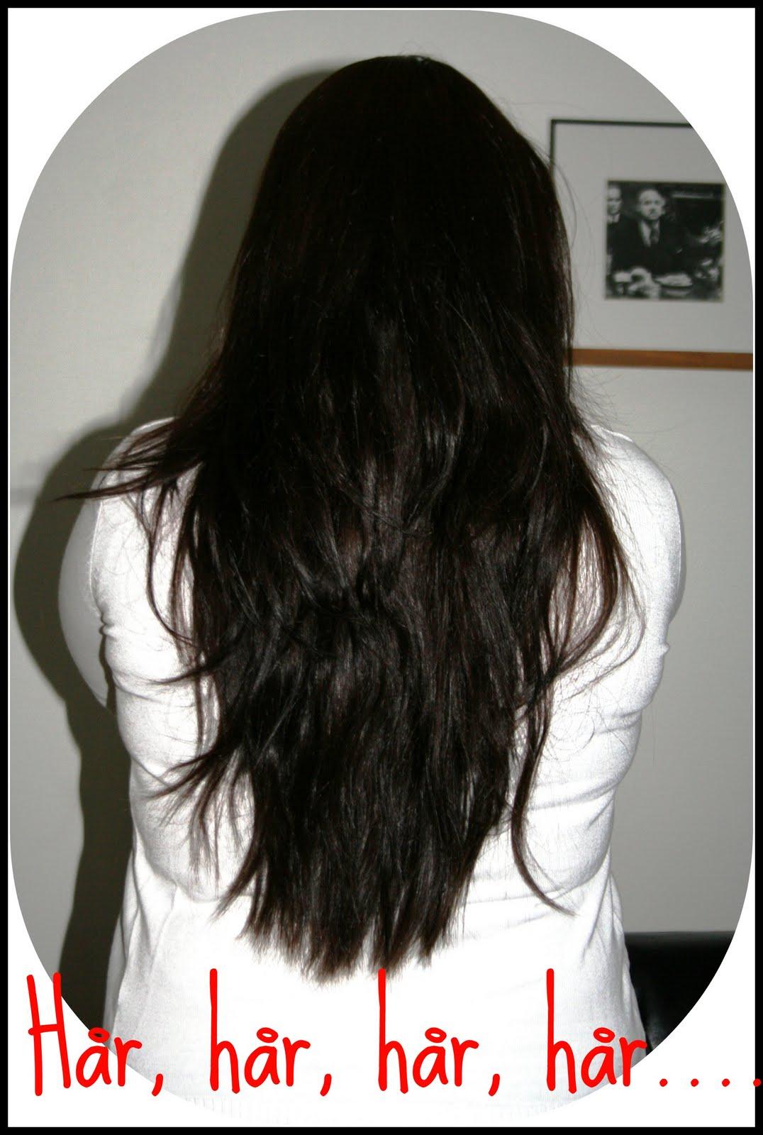 håret växer inte