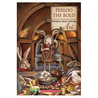 Book Cover Art for Perloo the Bold by Avi