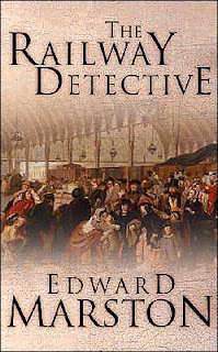 Book Cover of The Railway Detective by Edward Marston