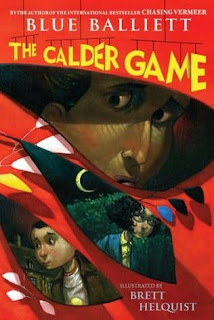 Book Cover of The Calder Game by Blue Balliett