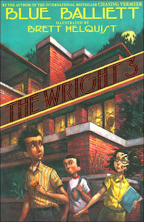 Book Cover of The Wright 3 by Blue Balliett