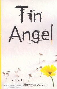Book Cover of Tin Angel by Shannon Cowan