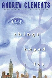 Book Cover of Things Hoped For by Andrew Clements