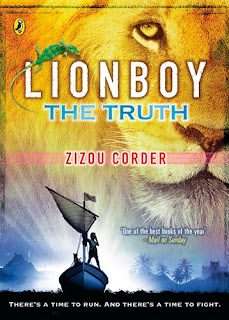 Cover of Lionboy – The Truth by Zizou Corder