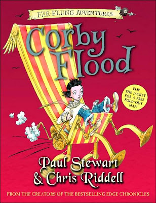 Cover Art of Corby Flood by Paul Stewart and Chris Riddell