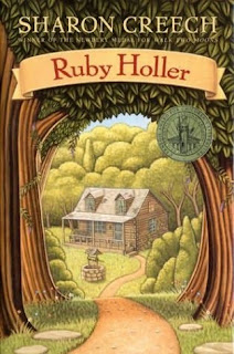 Book Cover Art for Ruby Holler by Sharon Creech