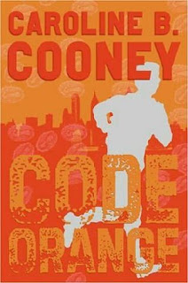 Book Cover Art for Code Orange by Caroline B. Cooney