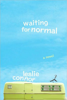 Book Cover Art for Waiting for Normal by Leslie Connor
