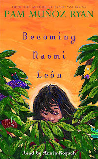 Book Cover Art for Becoming Naomi Leon by Pam Munoz Ryan