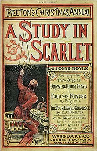 Cover Art for A Study in Scarlet by Sir Arthur Conan Doyle