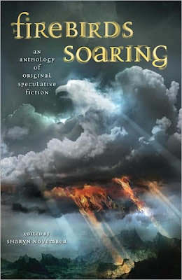 Book Cover Art for Firebirds Soaring by Sharyn November
