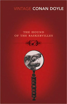 Book Cover Art for The Hound of the Baskervilles by Arthur Conan Doyle