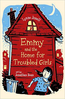 Book Cover Art for Emmy and the Home for Troubled Girls by Lynne Jonell