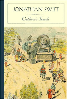 Book Cover Art for Gulliver's travels by Jonathan Swift