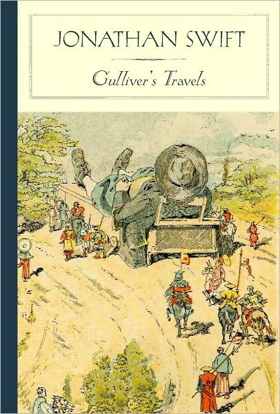 an analysis of satire in gulivers travel by jonathan swift Jonathan swift's story, gulliver's travels is very complex, with several layers of meaning he is a master satirist, and gulliver's travels is both humorous and critical he critiques almost every aspect of life, from the writings of his times to the politics.