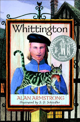 Book Cover Art for Whittington by Alan W. Armstrong