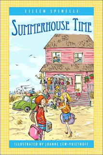 Book Cover Art for Summerhouse Time by Eileen Spinelli
