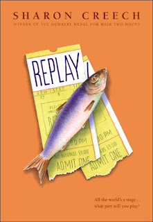Book Cover Art for Replay by Sharon Creech