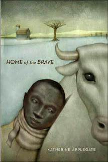 Book Cover Art for Home of the Brave by Katherine Applegate