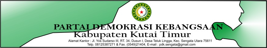 [Hiduplah Indonesia dan Jayalah PDK !!! ] [http.www.pdk-kutaitimur.blogspot.com]