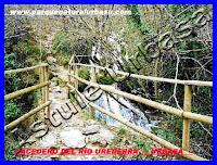 Nº 8 Puente de Madera Pequeño. Reserva Natural del Río Urederra. Parque Natural Urbasa. Ruta de las Cascadas desde Baquedano, Centro de Turismo Rural y Agroturismo  Casa Rural Navarra Urbasa Urederra. Ven a conocernos… te sorprenderás