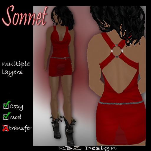 Sonnet Minidress