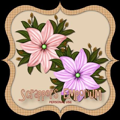 http://scrappersemporium.blogspot.com/2009/08/beautiful-flowers-freebie.html
