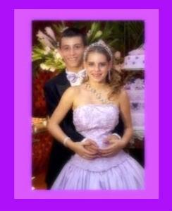 Príncipe Pedro e Princesa e debutante Manoelly