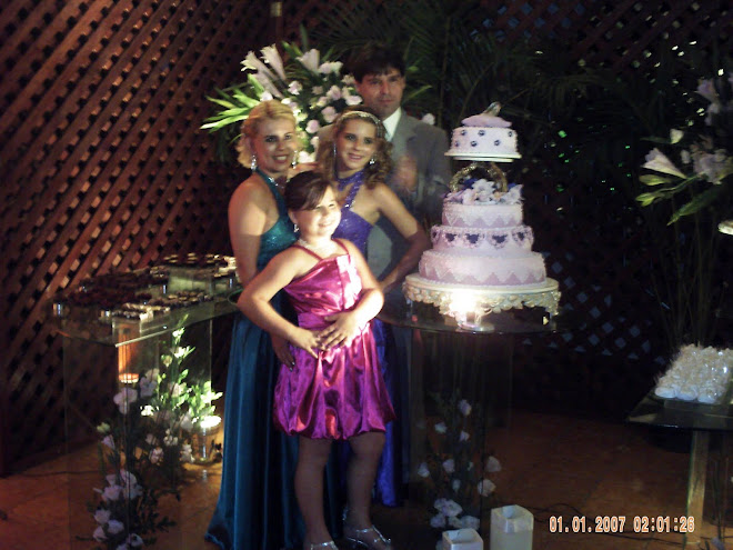 Umalinda debutante e sua bela familia!!!