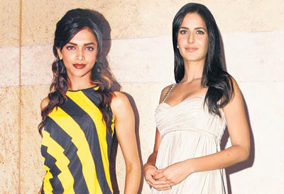 Deepika Padukone And Katrina Kaif Together