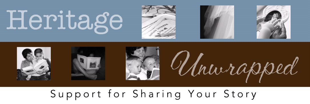 Heritage Unwrapped - Chris Crandall's Storybooking and Heritage Makers Support