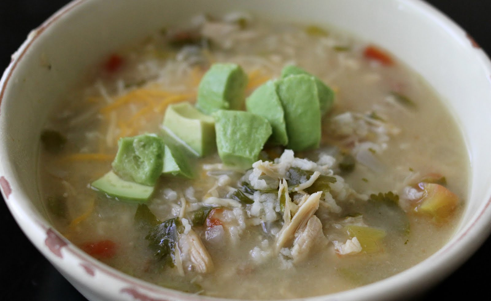 On My Menu: Green Chili Chicken & Lime Soup