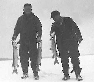 Ice Fishing Trout Lake MI