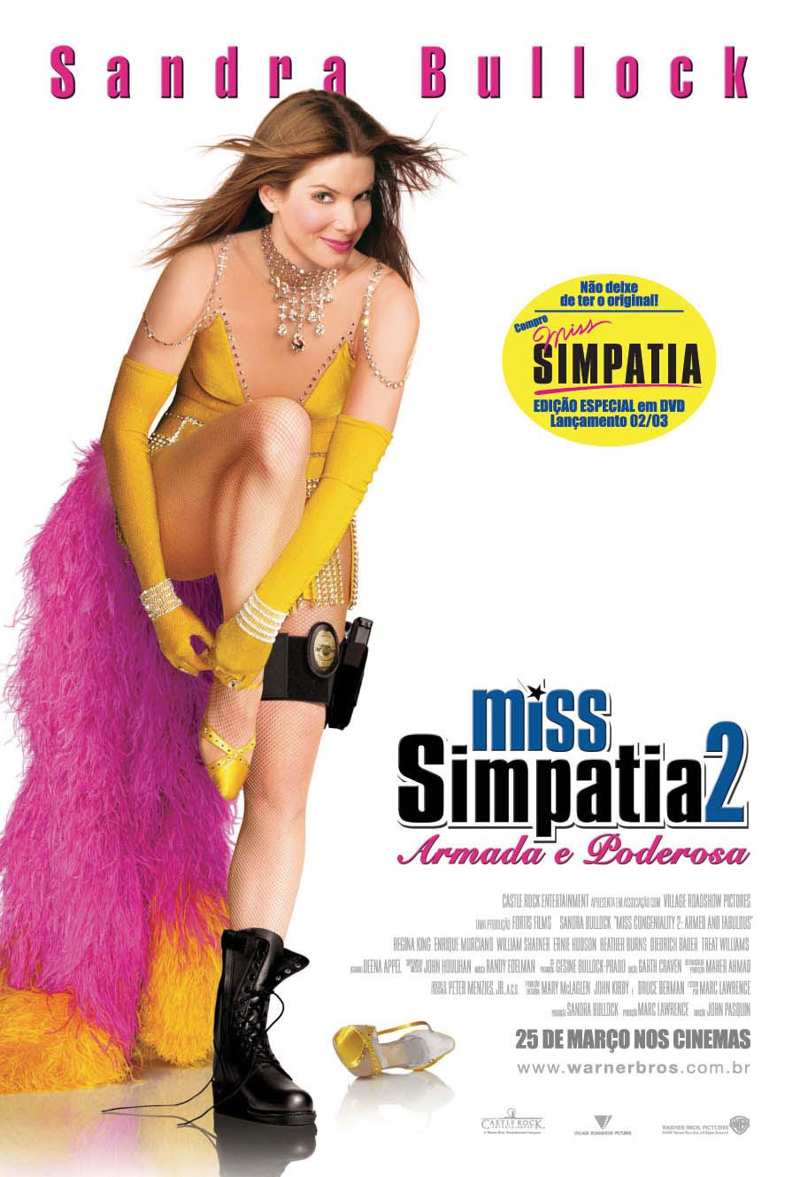 Miss Simpatia 2: Armada e Poderosa (Dublado)