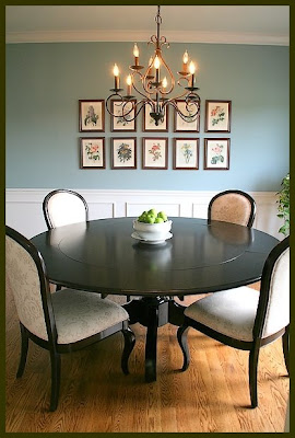Back Porch Musings: ~New Dining Room Table