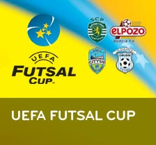 Apoia o Sporting na futsal Cup
