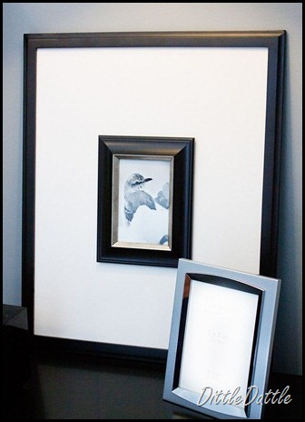 Photo Display Ideas: Dittle Dattle\'s DIY Frames