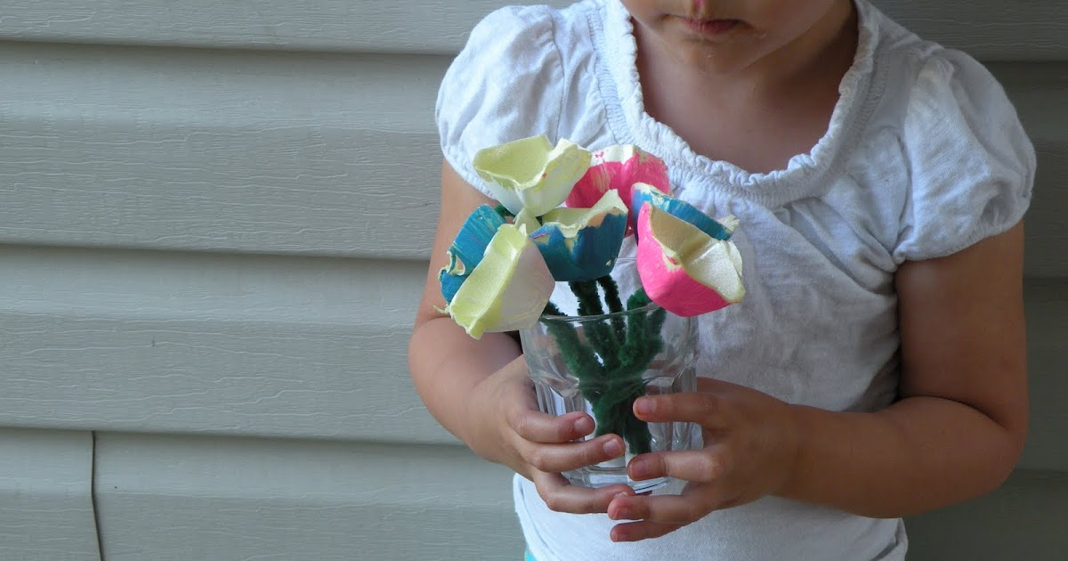 Toddler Approved!: Mother's Day Classic - Egg Carton Flowers