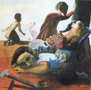 Sleeping, de Paula Rego
