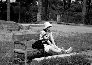 Roma: jardins do Foro Romano