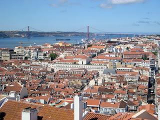 Lisboa: Vista do Miradouro da Graça