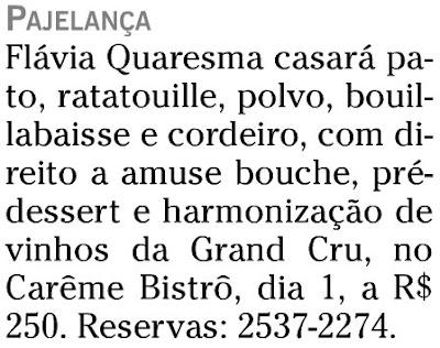publicado na coluna FRONT, do CADERNO ELA, de O GLOBO, de 29 de março de 2008