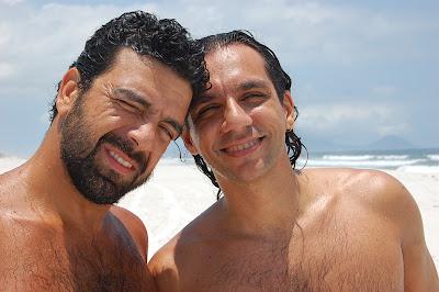 Fefê e Mauro, Massambaba, Arraial do Cabo, 02 de dezembro de 2007