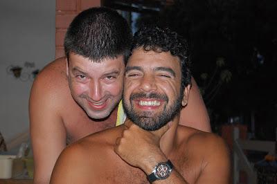 Eduardo Goldenberg e Fefê, Cabo Frio, primeiro de dezembro de 2007