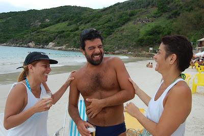 Danielli Pureza, Fefê e Lina Rivera, Prainha, Arraial do Cabo, primeiro de dezembro de 2007
