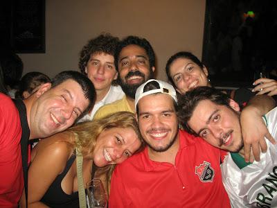 Edu Goldenberg, Tiago Prata, Fernando Szegeri, Luciane Tavares, Danielli Pureza, Bruno Tirone e Arthur Favela, Trapiche Gamboa, 08 de dezembro de 2007